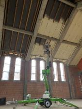 izolacja dachu nowego kościoła