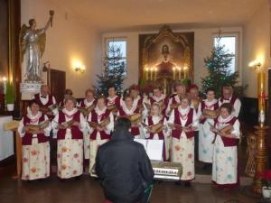 Koncert chóru Kochciczanki - 10 styczeń 2016r.