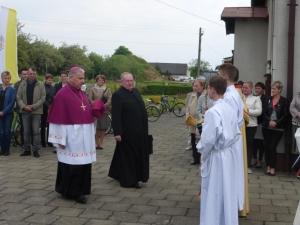 Wizytacja ks. biskupa Jana Kopca oraz udzielenie sakramentu bierzmowania - 18 maja 2016 2016r.