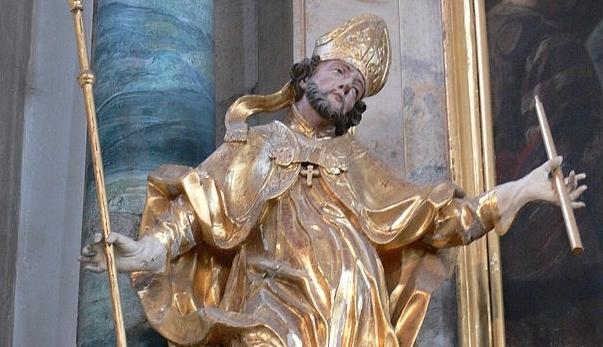 św. Błażej na ból gardła