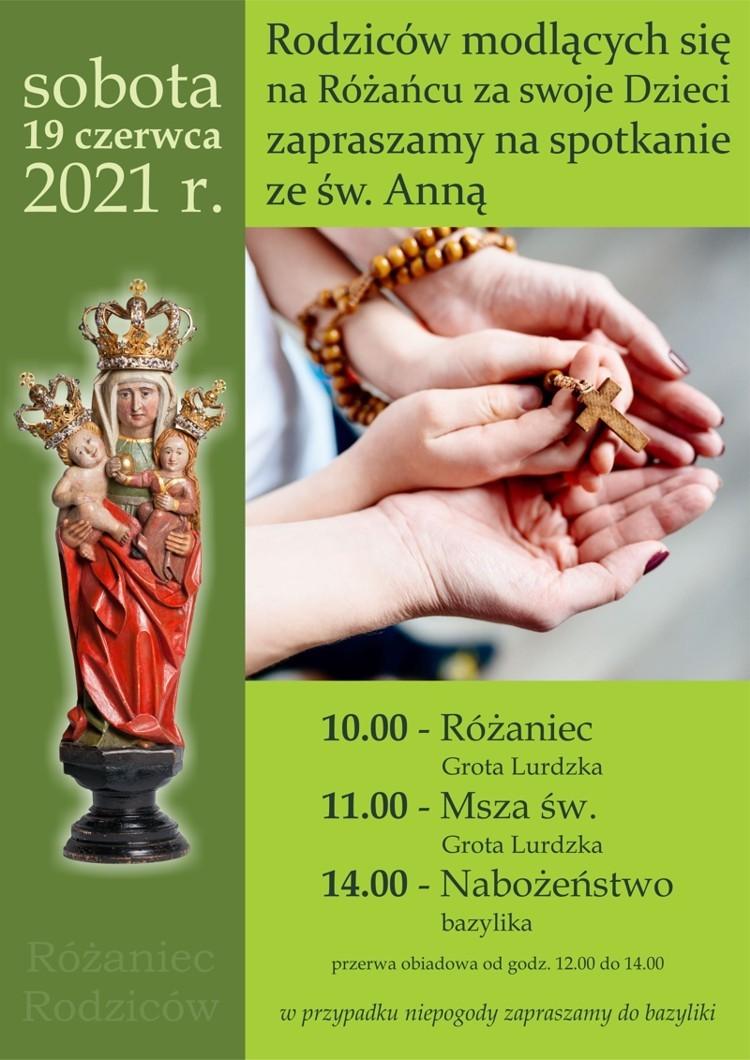 Zaproszenie na Górę Św. Anny
