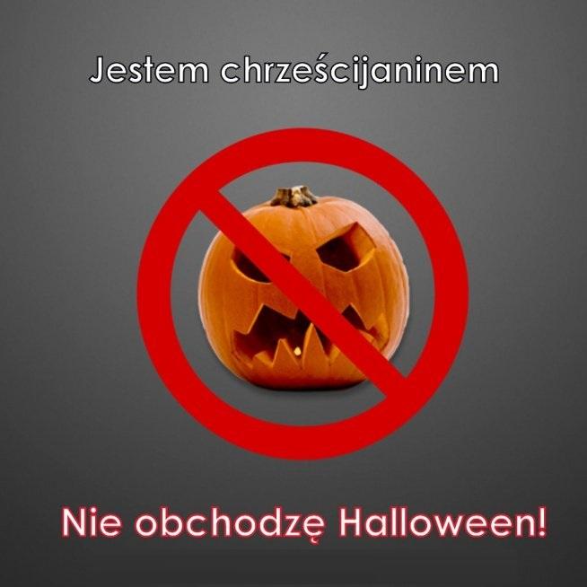 Chrześcijanie nie obchodzą Halloween