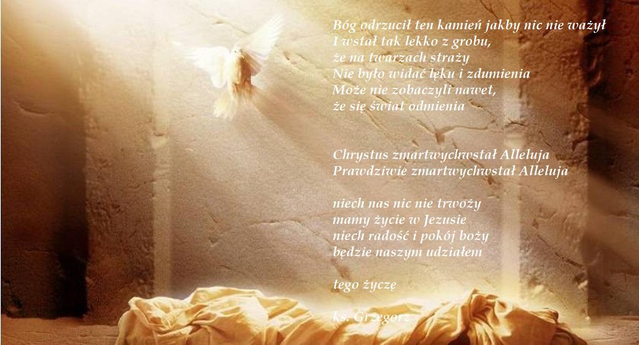 Życzenia od ks. Proboszcza – Pan Zmartwychwstał