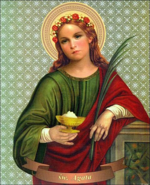 Wspomnienie św. Agaty, dziewicy i męczennicy