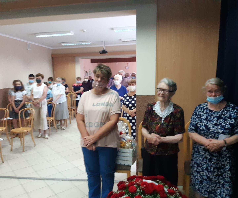 Jubileusz naszej parafianki p. Berty Pyka