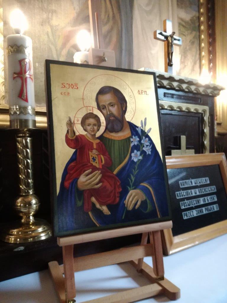 Nowa ikona Świętego Józefa