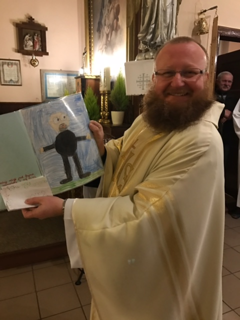 Urodziny naszego księdza wikarego Michała