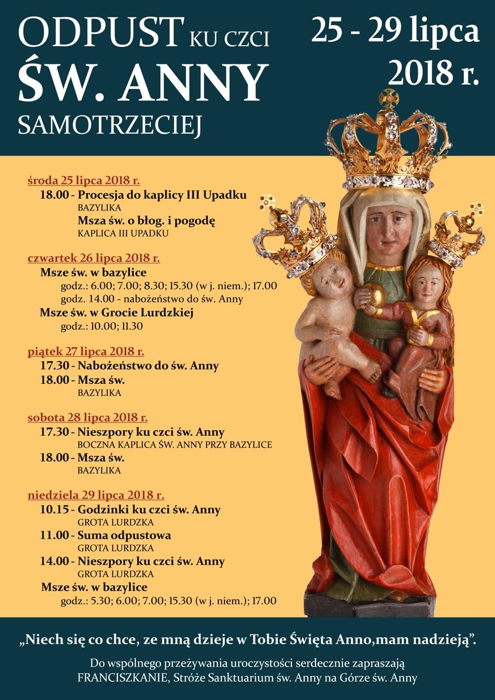Odpust ku czci św. Anny na Górze Świętej Anny