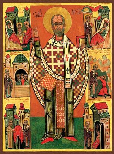 6 grudnia – Święty Mikołaj, biskup