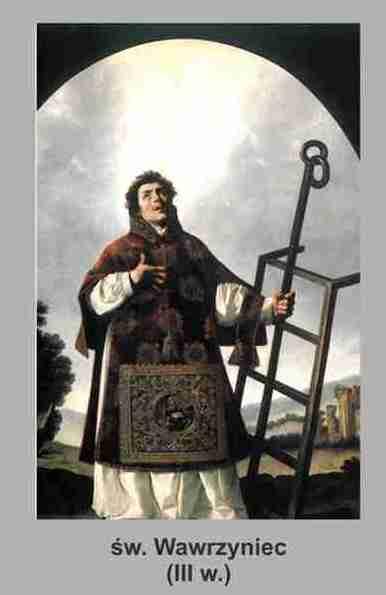 Święty Wawrzyniec, diakon i męczennik
