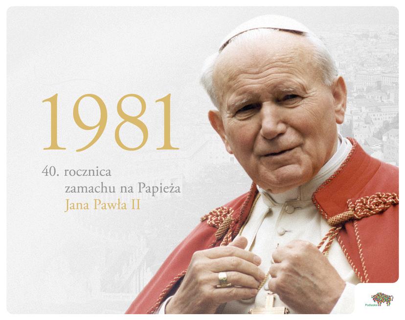13 maja – 40. rocznica zamachu na Papieża Jana Pawła II